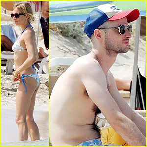 Sienna Miller Flaunts Sexy Bikini Body During Spain Vacation With Shirtless Tom Sturridge