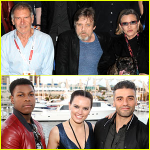 'Star Wars' Comic-Con Panel - See All the Cast Photos Here!