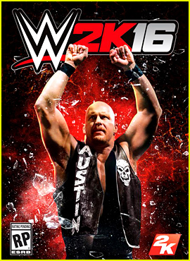 Stone Cold Steve Austin Covers WWE 2K16 Video Game!