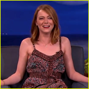 Emma Stone Had to Explain Twitter to Woody Allen