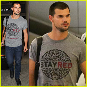 Taylor Lautner Shows Support for Native American Culture