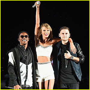 Taylor Swift Brings MKTO On Stage to Perform 'Classic' - Watch Here!