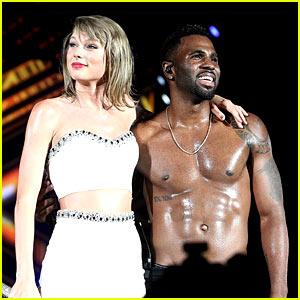 Taylor Swift Sings with a Shirtless Jason Derulo in DC! (Video)