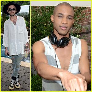 Tokio Hotel's Bill Kaulitz Goes Solo at Just Jared's Summer Bash