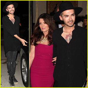 Tokio Hotel's Bill Kaulitz Has Friendly Date Night with Lisa Vanderpump!