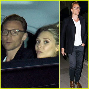 Tom Hiddleston & Elizabeth Olsen Step Out o