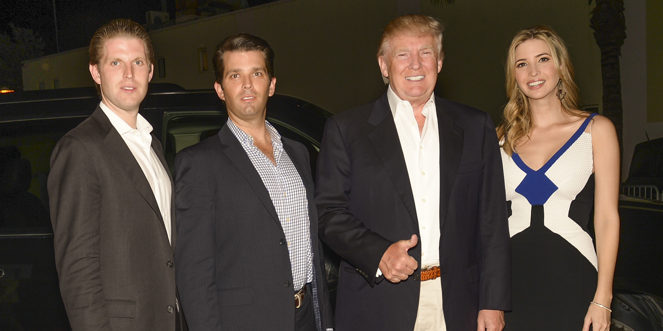 Donald Trump's Kids Stand By Him Amid All His Controversy ...