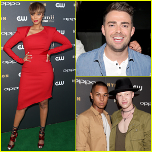 Tyra Banks Is Red Hot for 'America's Next Top Model' Cycle 22 Premiere Party!