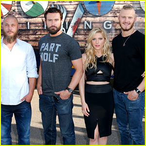 'Vikings' Cast Steps Out at Comic-Con, Debuts New Trailer