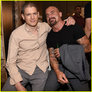Wentworth Miller & Dominic Purcell Bring 'Legends of Tomorrow' to ...