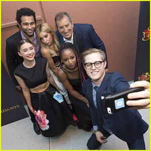 Ashley Tisdale & 'HSM' Cast Support Kenny Ortega At 'Descendants' Premiere