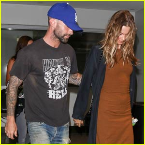 Adam Levine Nurses Wife Behati Prinsloo Back to Health After Getting Wisdom Teeth Removed