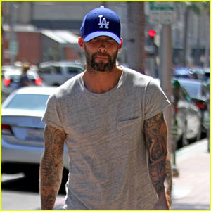 Adam Levine Tries to Stay Humble with Private Jet Photo