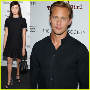 Alexander Skarsgard Screens 'Diary Of A Teenage Girl' in NYC