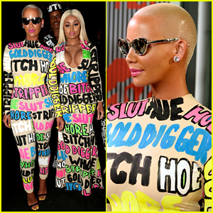 Amber Rose & Blac Chyna Make Bold Statements on the MTV VMAs 2015 Red Carpet