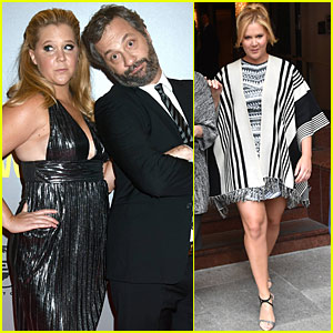 Amy Schumer & Judd Apatow Are Wedding Crashers In Ireland