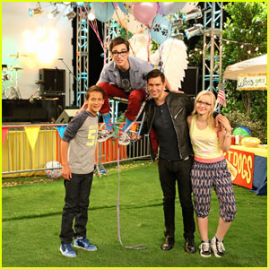 Andy Grammer Guest Stars on 'Liv & Maddie' - Watch an Exclusive Featurette!