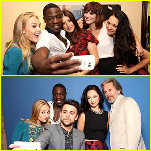 AnnaSophia Robb & Jack Falahee Take Selfies with 'Mercy Street' Cast at Summer TCA!