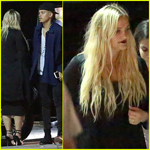 Ashlee Simpson Steps Out For The First Time Post-Baby