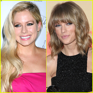 Avril lavigne responds to taylor swift meet greet photo avril lavigne responds to taylor swift meet greet photo comparisons we all love our fans m4hsunfo