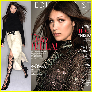 Bella Hadid Covers Fall/Winter 2015 Issue of 'Editorialist' - See The Glam Cover!