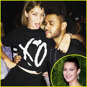 Bella Hadid Shares Cute Pic of Sister Gigi with Boyfriend The Weeknd