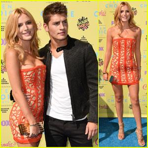 Bella Thorne & Gregg Sulkin Are One Cute Teen Choice Couple!