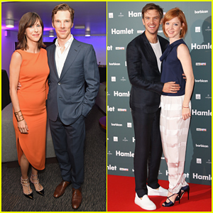 Benedict Cumberbatch & Dan Stevens Couple Up at 'Hamlet' After Party!