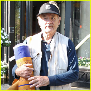 Bill Murray Flies to Boston for 'Ghostbusters' Filming!