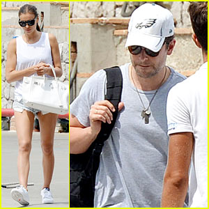 Bradley Cooper & Irina Shayk Pack Up After Another Italy Trip