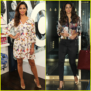 Camila Alves Cooks Up An In-N-Out-Style Burger - Watch Here!