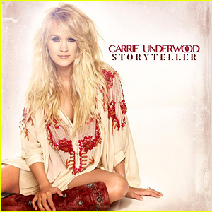 Carrie Underwood Debuts 'Storyteller' Cover Art!