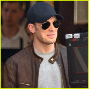 Chris Evans Seen Filming 'Captain America: Civil War' Again in Berlin