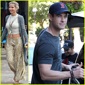 Chris Hemsworth Celebrates Birthday on 'Ghostbusters' Set