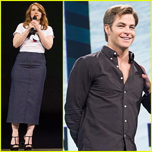 Chris Pine & Bryce Dallas Howard Showcase Their Upcoming Disney Films at D23