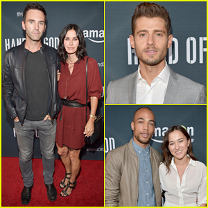 Courteney Cox & Johnny McDaid Couple Up at 'Hand Of God' Premiere Screening!