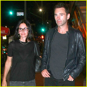 Courteney Cox Did Not Join Jennifer Aniston & Justin Theroux On Their Honeymoon