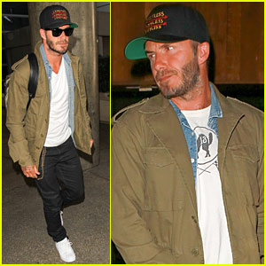 David Beckham Gets Back To His Manchester United Roots