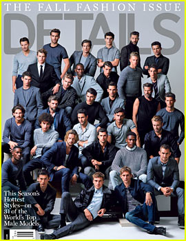 'Details' Fall Fashion Issue Stars 31 Super Hot Male Models!