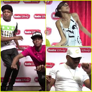Zendaya & Flo Rida 'Whip & Nae Nae' To Silento's 'Watch Me' (Exclusive Vid)