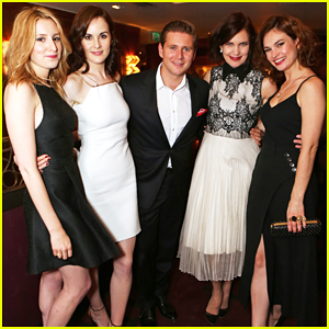 'Downton Abbey' Cast Get Dressed Up for Wrap Party!