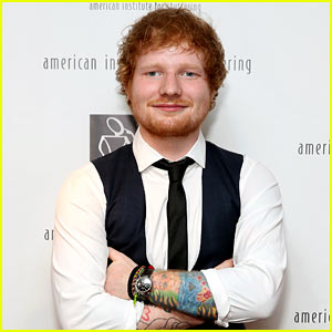 Ed Sheeran Tattooed a Giant Lion on His Chest (Photo)