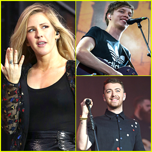 Sam Smith & Ellie Goulding Hit V Festival 2015 - See Concert Pics!