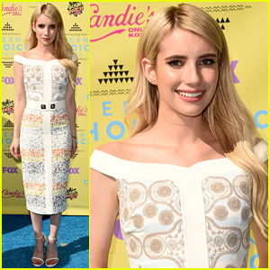 Emma Roberts Is All Glammed Up for Teen Choice Awards 2015!