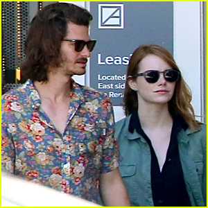 Emma Stone & Andrew Garfield Photographed For the First Time in Months!