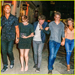 These Photos of the 'Fantastic Four' Cast Holding Hands in NYC Are Cutest Thing You'll See Today