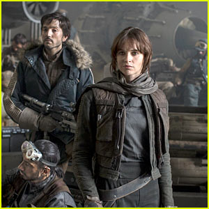 Felicity Jones in Star Wars' 'Rogue One' - First Look Photo!