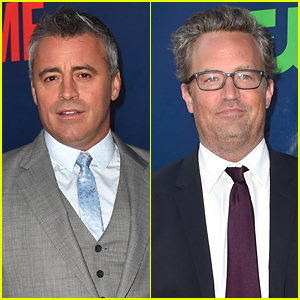 'Friends' Stars Matthew Perry & Matt LeBlanc Weren't Invited to Jennifer Aniston's Wedding