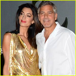 George Clooney Launches Tequila in Ibiza With Wife Amal