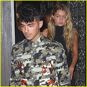 Gigi Hadid Takes Pre-Fashion Month Vacay With Joe Jonas